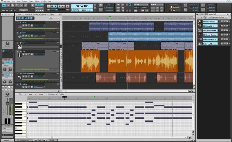 sonar 8.5 видео уроки
